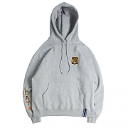 MY DAY LETTERING HOODIE_GREY