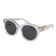 CEREMONY TAPE SUNGLASSES_CLEAR-BLACK