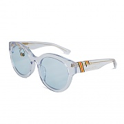 CEREMONY TAPE SUNGLASSES_CLEAR-BLUE