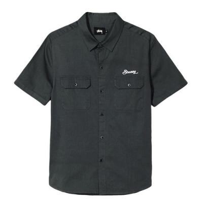 HBT WORK SHIRT-LIGHT BLK