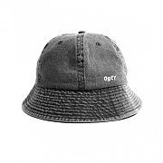 (100520013)DECADES BUCKET HAT-BLK