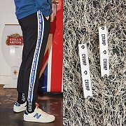 Crump represent track pants +Crump logo pants holder (CP0011)