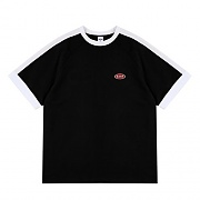 5.B.O MINI LOGO T-SHIRTS-BLACK