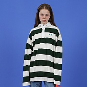 Ncover stripe rugby-green