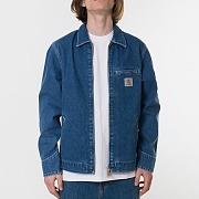 (I024846)DETROIT JACKET-BLUE STONE WASHED