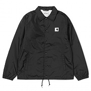 (I024018)SPORTS COACH JACKET-BLK/WAX