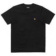 (I021949)S/S CHASE T-SHIRT-BLK/GOLD
