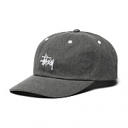 WASHED STOCK LOW PRO CAP-BLK