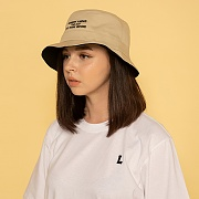 NOBODY KNOWS BUCKET HAT-REVERSIBLE