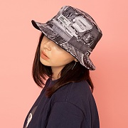 OLD NEWYORK BUCKET HAT-REVERSIBLE