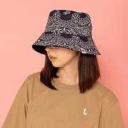 HAV A HANK OVERSIZE BUCKET HAT-NAVY