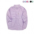 Roll-up Sleeve Washing Shirt(6color)(unisex)