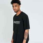 [18SS]NEW BASIC LOGO T-SHIRT-BLACK