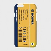 TRAVEL TICKET-YELLOW