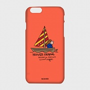 SAILING BOAT-ORANGE