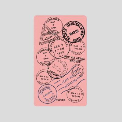 TRAVEL STAMP-PINK(BATTERY)