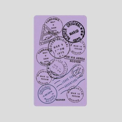 TRAVEL STAMP-PURPLE(BATTERY)