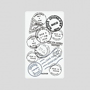 TRAVEL STAMP-WHITE(BATTERY)