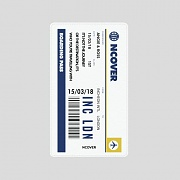TRAVEL TICKET-WHITE(BATTERY)