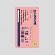 TRAVEL TICKET-PINK(BATTERY)