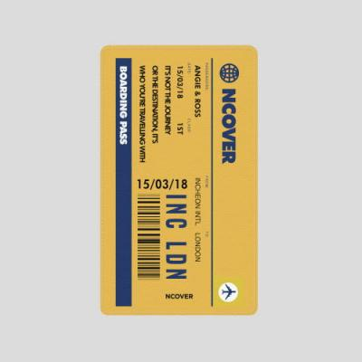 TRAVEL TICKET-YELLOW(BATTERY)