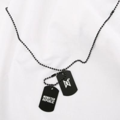 MONSTER CHAIN NECKLACE / BLACK