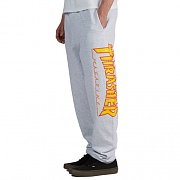 FLAME SWEATPANTS-LIGHT GREY