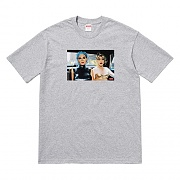 NAN GOLDIN MISTY AND JIMMY PAULETTE TEE -GREY