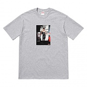 NAN GOLDIN DOMINATRIX TEE-GREY