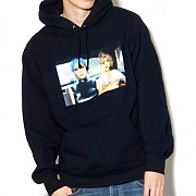 NAN GOLDIN HOODED SWEATSHIRT-BLACK