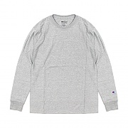 CLASSIC JERSEY LS TEE (팔로고)-OXFORD GREY