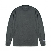 (T2978) CLASSIC JERSEY LS TEE -GRANITE HEATHER