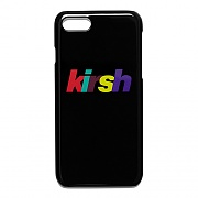 RAINBOW LOGO PHONE CASE HS [BLACK]
