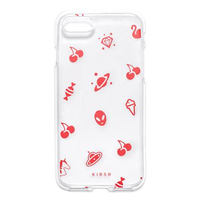 CHERRY PATTERN PHONE CASE HS [RED]