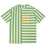 Vertical Stripe Collar-less 1/2 Cover (green)
