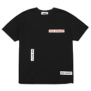 Body Part Logo 1/2 T-Shirts (black)
