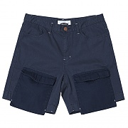 Jut Pocket Over Cargo Shorts (navy)