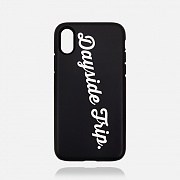YOUTH SCRIPT TOUGH CASE BLACK