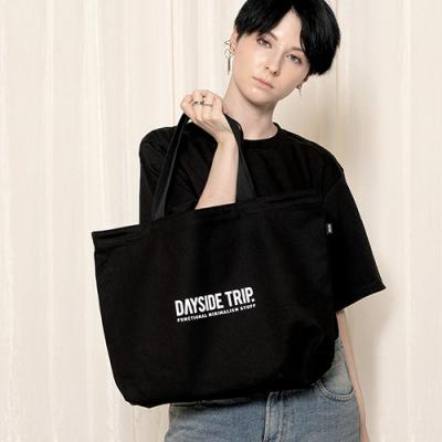 URBAN LOGO ECO BAG BLACK