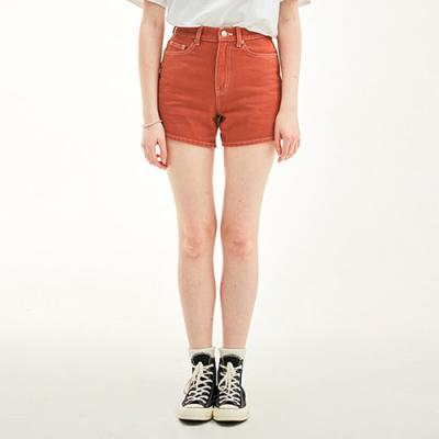 HIGH WAIST SHOT PANTS HS [RED]