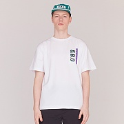 5.B.O TAG T-SHIRTS-WHITE