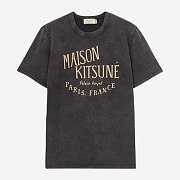 PALAIS ROYAL TEE-WASHED BLACK