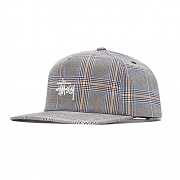 GLEN PLAID CAP-TAN