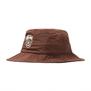CRUSHABLE STOCK LOCK BUCKET-BROWN