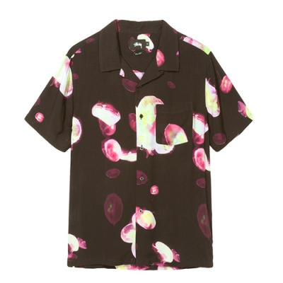 JELLY FISH PRINTED SHIRT-BLACK