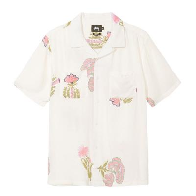 HANA PRINTED SHIRT-WHITE
