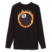 FIREBALL LS TEE-BLACK