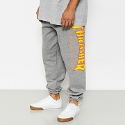 FLAME SWEATPANTS-DARK GREY
