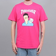 GONZ COVER TEE-PINK