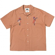 Waikiki Open-collar Shirts  (pink)